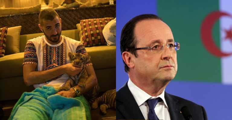 François Hollande tue Karim Benzema !!