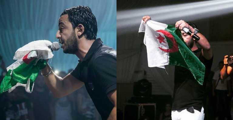 Lacrim réagit lors de la victoire de l'Algérie face au Nigéria !