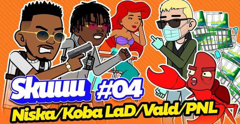 Skuuu #4 : Niska, Koba LaD, PNL, Booba, PNL, Vald disséqués par Lacrem ! (Vidéo)