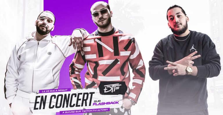 DTF sera en concert sur GTA RP, à Los Santos ! (Photo)